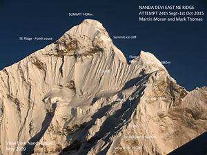 Nanda Devi East, Northeast Ridge, Attempt - AAC ...