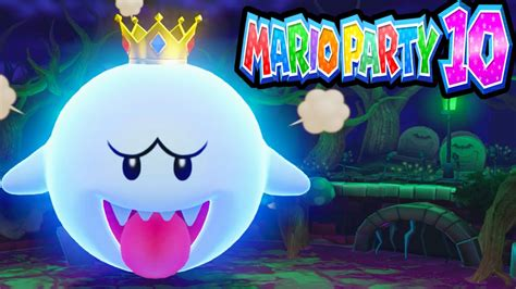 Mario Party 10 Wii U Boss King Boo Haunted Trail 2 Player