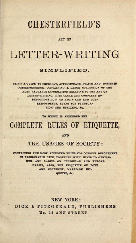 guides   century etiquette