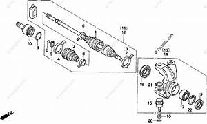 Honda Atv 1997 Oem Parts Diagram For Knuckle