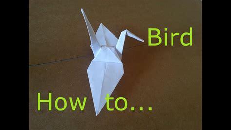 origami paper bird    japanese origami paper