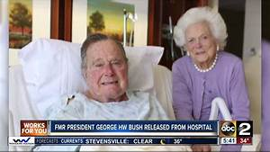 President George H.W. Bush to be released from hospital by ...