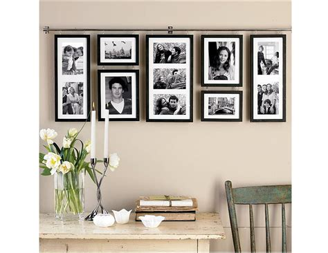 home interior picture frames decorating creative collage picture frames for wall decoration plus wooden table and chair with