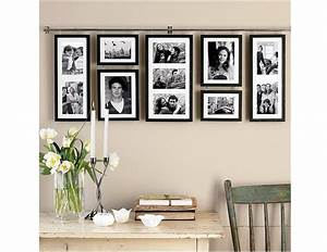 decorating creative collage picture frames for wall With interior design wall of frames