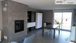Plan De Travail Bois Sur Mesure : cuisine noir plan de travail bois gallery of cuisine noir ~ Premium-room.com Idées de Décoration