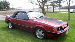 1986 Ford Mustang Convertible | G205 | Indy 2018