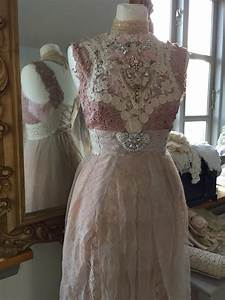 vintage inspired wedding rose colored fairy dresses With rose colored wedding dress