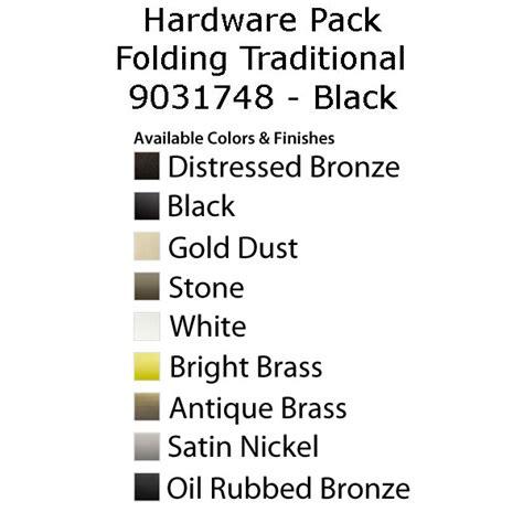 andersen casement window  series hardware pack folding traditional black