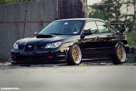 slammed subaru low loud vic 39 s slammed subaru sti stancenation
