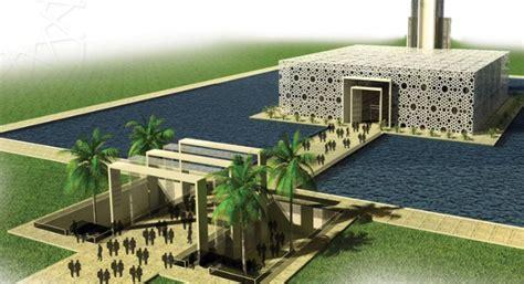 desain masjid minimalis modern rumah joglo limasan work