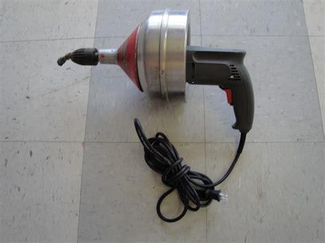100 ft plumbing snake 100 plumbing snake 100 ft sewer snake easy rooter power