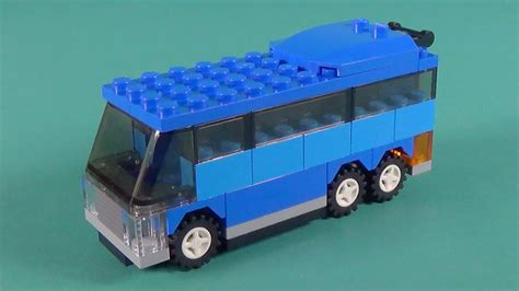 Lego Bus Building Instructions