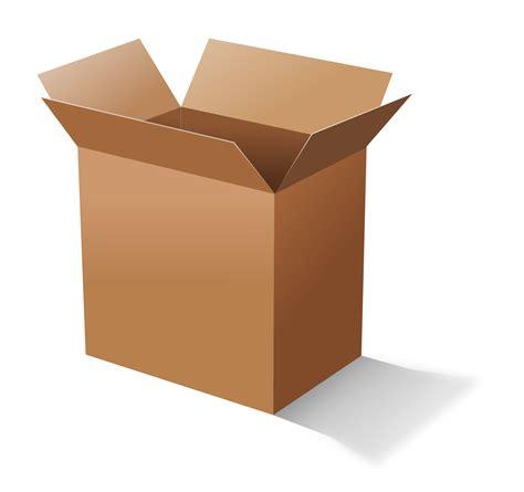 Box Clip Clipart Cardboard Box