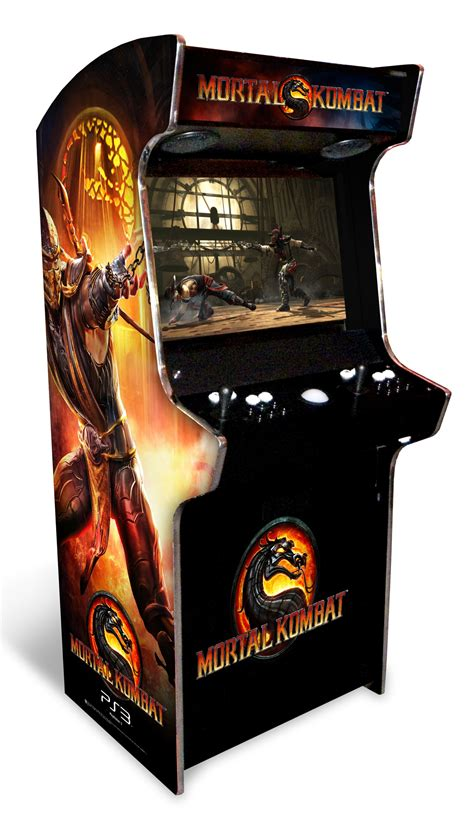 Mortal Kombat Arcade Cabinet by Project Working Guide To Get Arcade Cabinet Plans Tankstick