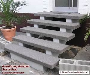 Treppenstufen Außen Beton : treppenstufen holz beton kleben ~ Frokenaadalensverden.com Haus und Dekorationen