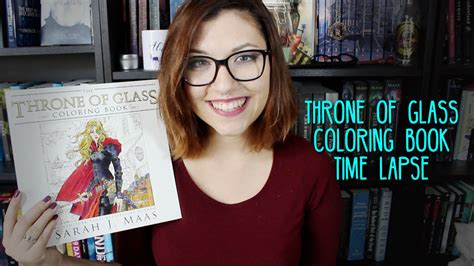 throne  glass coloring book time lapse youtube