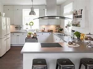 Idee amenagement cuisine ouverte sur salon 5 modele for Idee deco cuisine avec model cuisine Équipée