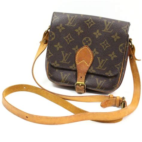 authentic louis vuitton monogram mini cartouchiere