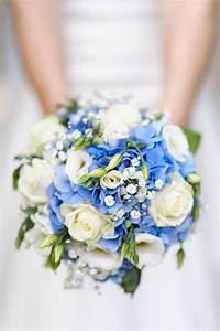"35 ""Something Blue"" Bridal Bouquets - Mon Cheri Bridals"