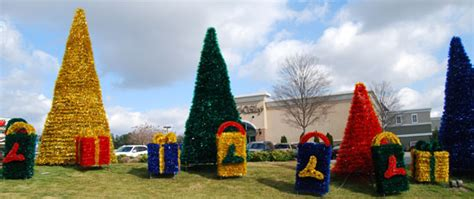 commercial outdoor christmas decorations  exterior