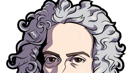 Isaac Newton (cartoon Caricature