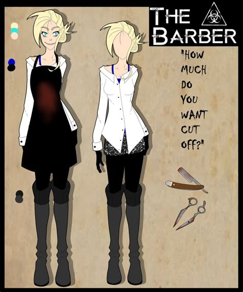 creepypasta oc template creepypasta oc the barber updated ref by drbisou on deviantart
