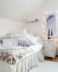 Guirlande Chambre Fille : 60 id es en photos avec clairage romantique ~ Preciouscoupons.com Idées de Décoration
