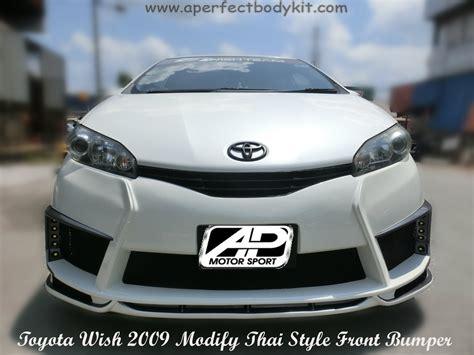 toyota   modify thai style front bumper toyota