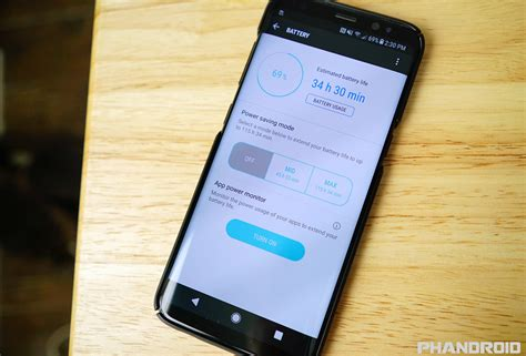 how to improve galaxy s8 battery