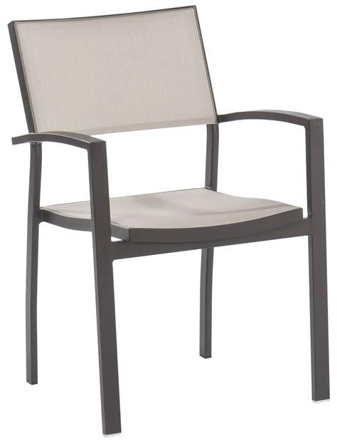 chaise de terrasse fauteuil de jardin pol chocolat tables et chaises de