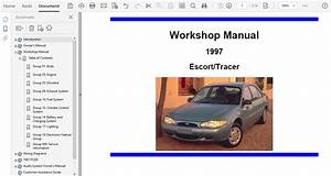 1997 Ford Escort Repair Manual