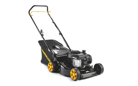 mcculloch m46 125 mcculloch m46 125 classic petrol lawn mower 46cm 18 quot gardenlines
