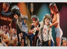 rolling stones caricatures Google Search The rolling