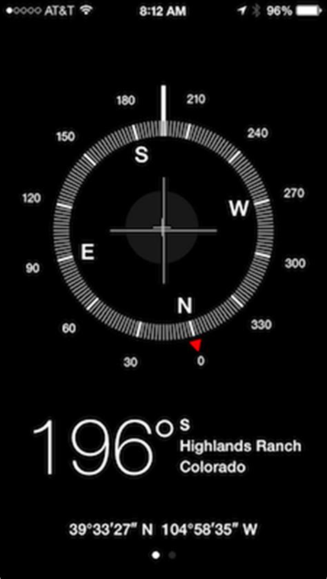 how to use iphone compass get lost iphone compass app struggles in tests