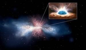 Supermassive black hole caught 'burping' gas by NASA ...