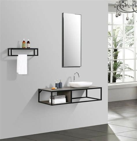 Modern Bathroom Basins South Africa by Picasso Bathroom Vanity Set 4 Pcs Iron Frame With