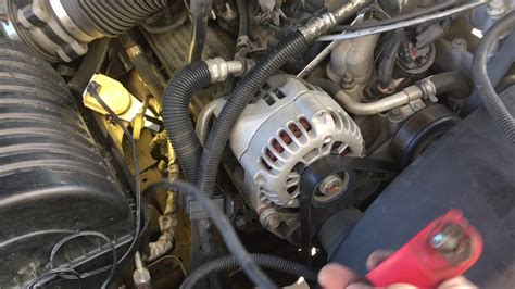 replacing  starter cable  chevy suburban