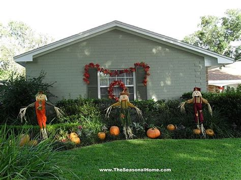fun scarecrow ideas    halloween   year