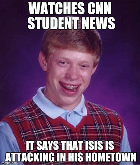 Meme News - bad luck brian meme imgflip