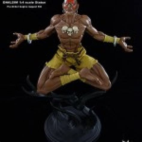 Street Fighter Dhalsim Yoga Flame Ex 14 Scale Statues