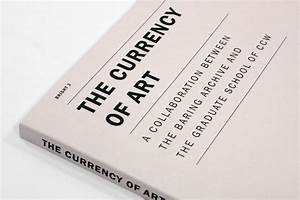 The Currency of Art – Book Design