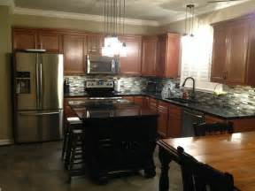 kountry wood products quot amish made cabinetry quot contemporary kitchen st louis by norm s
