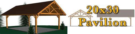 20x30 log pavilion meadowlark log homes