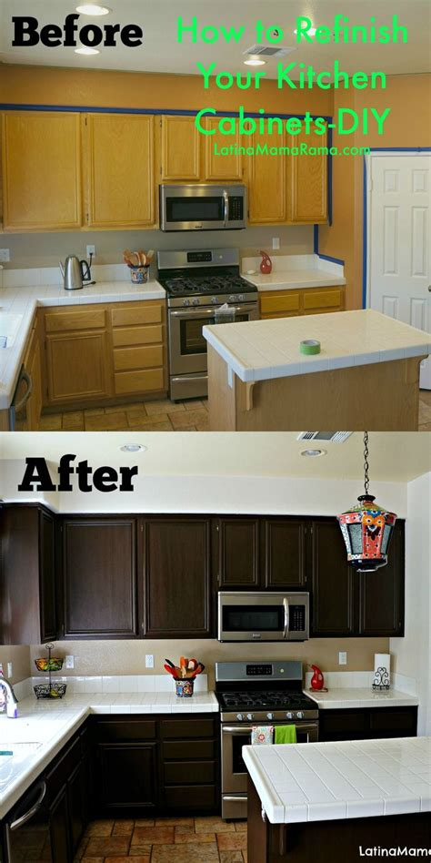 updating oak kitchen cabinets before and after staining cabinets darker without sanding gel stain