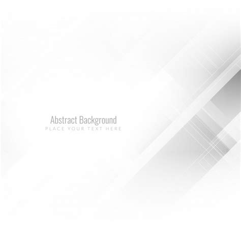 White Abstract Background Abstract Background White Color Vector Free