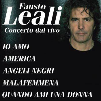 Fausto Leali Mi Manchi Testo by Quando Ami Una Donna Testo Fausto Leali Testi Canzoni Mtv