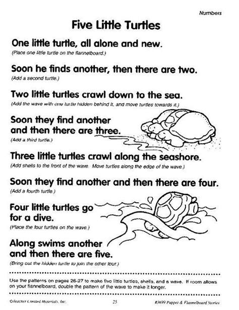 There is little documentary evidence for most of little turtle's life. 5 little turtles 3/3 friends | Kindergarten songs, Turtle ...