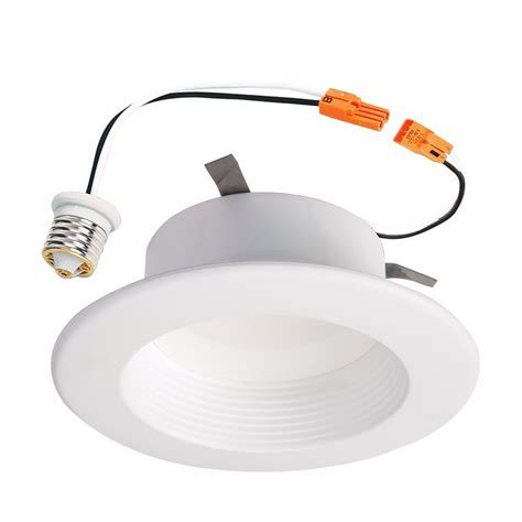 can light trim led commercial electric 4 in bronze recessed led trim ring