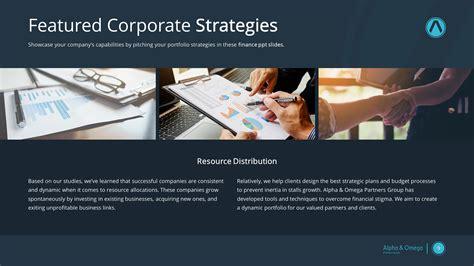 modern financial premium powerpoint template slidestore