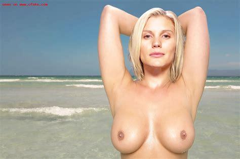 Celebrity Fakes Show Newest Katee Sackhoff